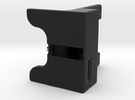 WaveGuide (a dock for iPhone 5 - 3 Degree Incline) in Black Strong & Flexible