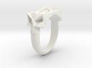 Facet Skull Gth in White Strong & Flexible