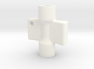 radiator key in White Strong & Flexible Polished