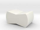 Neuralynx tetrode spinner clip holder in White Strong & Flexible
