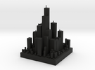 Micro City in Black Strong & Flexible