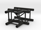 Square truss T piece 1:10 in Black Strong & Flexible