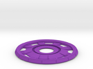 Arc Reactor #2 B in Purple Strong & Flexible Polished