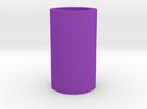 "Plain Blade Plug - Fits 1"" saber blade in Purple Strong & Flexible Polished"