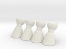 ModiBot Hoof Set in White Strong & Flexible
