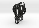 Shell Earrings in Black Strong & Flexible