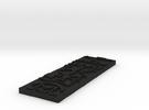 Aricebo Message Pendant in Black Acrylic