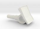 Minifig Blocker in White Strong & Flexible