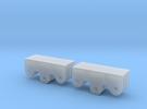 2x Registerkupplung Typ 2 in Frosted Ultra Detail