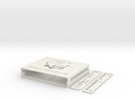 Router Station Pro Case 3_1_1 in White Strong & Flexible