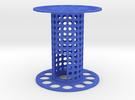 Fischertechnik big spoolwheel in Blue Strong & Flexible Polished