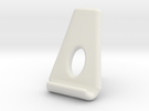Nexus 7 -  tablet stand in White Strong & Flexible