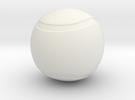 Tennis Ball Hollow in White Strong & Flexible