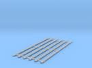 h0 Platte Vorst (6st) kruispannen in Frosted Ultra Detail