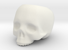 Skull Pot V3 - H150MM in White Strong & Flexible