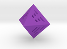 I Ching D8 in Purple Strong & Flexible Polished