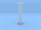 LMS Concrete Platform Lamp Single N Gauge 2mm:1ft in Frosted Ultra Detail