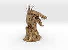 The Tuurasucha - Creature Sculpture (Small) in Raw Brass