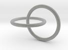 Rings in Metallic Plastic