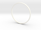 Bangle4 in White Strong & Flexible Polished