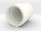 Capuchon V2 in White Strong & Flexible Polished
