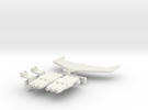 Hot Rod Add-on Kit in White Strong & Flexible