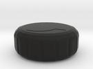 Knob Knob 2.1 in Black Strong & Flexible