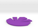 Maquis Logo One Inch in Purple Strong & Flexible Polished