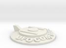 UFOCombat.com UFO 1 in White Strong & Flexible