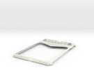 Ipad Mini Vegas Case (repaired) in White Strong & Flexible