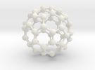 Buckyball C60 in White Strong & Flexible