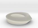 Mobius Loop - Square 1/4 twist in Transparent Acrylic