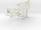 Medium Small Gun  in White Strong & Flexible