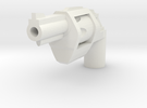 Ratchetrooper Weapon H01 - Revolver in White Strong & Flexible