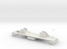 Dv12 alusta (H0) / Dv12-frame (H0) in White Strong & Flexible