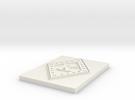 Kappa diamond in White Strong & Flexible