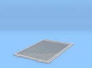 YSD Industries 8ft Plate F Door in Frosted Ultra Detail