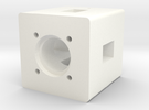 Motor Mount 1 in White Strong & Flexible Polished