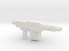 Gundam Gun in White Strong & Flexible