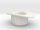 Presta Valve Tube Rim Adapter, 140102 in White Strong & Flexible