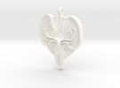 Game of Thrones Greyjoy in White Strong & Flexible Polished