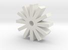 12x MicroSD holder in White Strong & Flexible