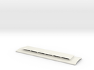 Victorian Railways NG NB platform car roof in White Strong & Flexible