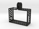 Ultralight GoPro Hero3 frame in White Strong & Flexible