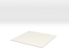 10cmx10cmx1mm in White Strong & Flexible
