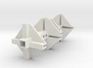 TGD-9 Servomount UNI1 in White Strong & Flexible