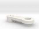 Cupholder Pin Holder V2 in White Strong & Flexible