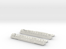 "SBB RBDe 560 ""NPZ"" - TT scale in White Strong & Flexible"
