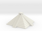 Mayan Pyramid temple in White Strong & Flexible