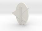 Trek Badge 1.7 in White Strong & Flexible